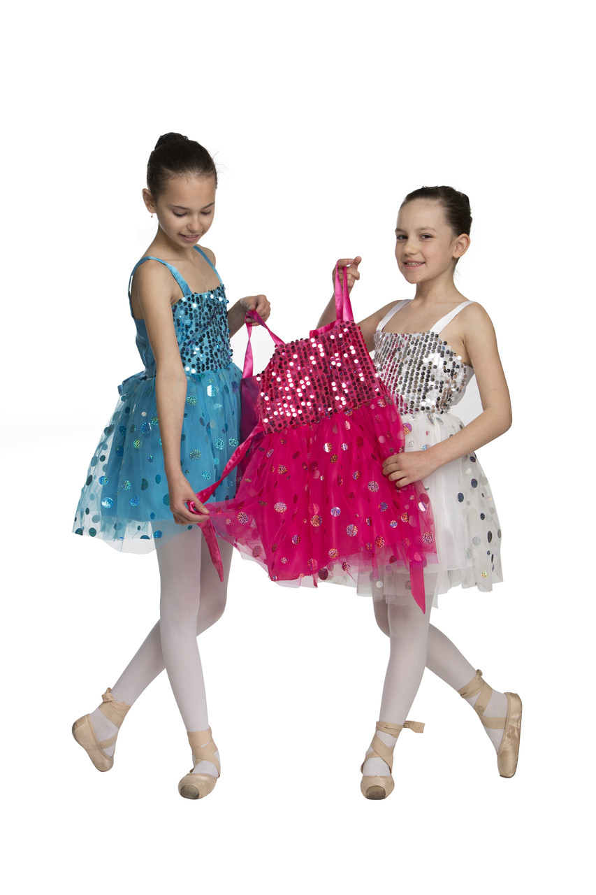 Платье детское с пайетками