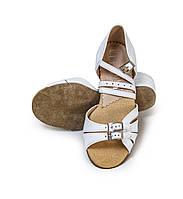 Туфли детские для бальных танцев Levant 7000/2 Белый 16