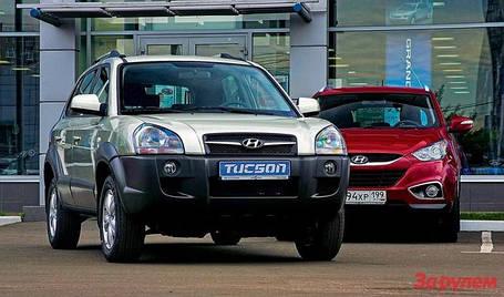 Hyundai Tucson I 2004-2010г.в.