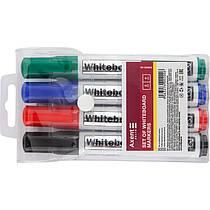 Набор маркеров для магнитно маркерных досок Axent 2800