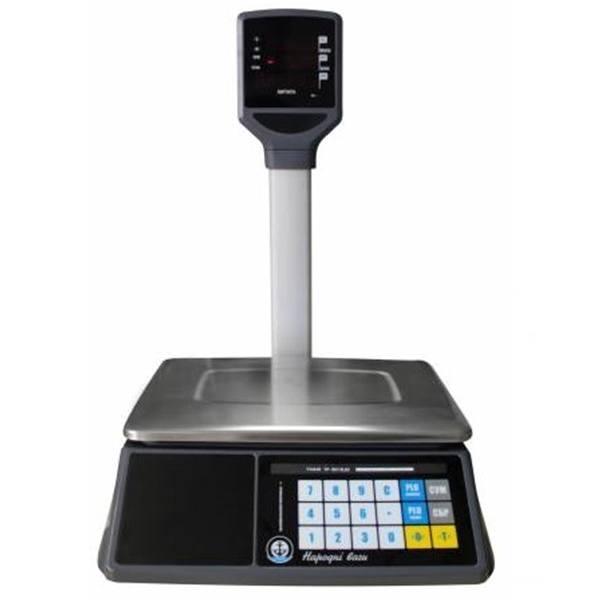 Весы торговые Вагар VP LED RS-232 (6/15 кг)