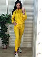 Стильный Женский, СПОРТИВНЫЙ КОСТЮМ. Цвет желтый. Размеры 42-44, 46-48