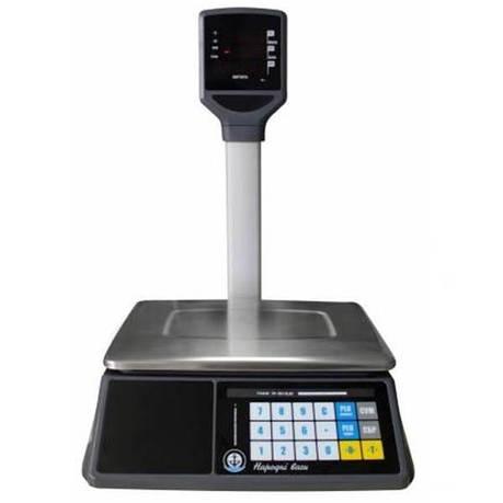 Весы торговые Вагар VP LED RS-232 (15/30 кг), фото 2
