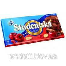 Шоколад Studentska вишня 180г