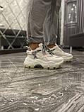 Женские кроссовки Prada Chunky All White, женские кроссовки прада, жіночі кросівки Prada, кросівки прада, фото 5