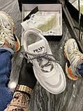 Женские кроссовки Prada Chunky All White, женские кроссовки прада, жіночі кросівки Prada, кросівки прада, фото 3