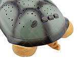 """Ночник детский """"музыкальная черепаха"""" проектор звездного неба персиковый, фото 10"""