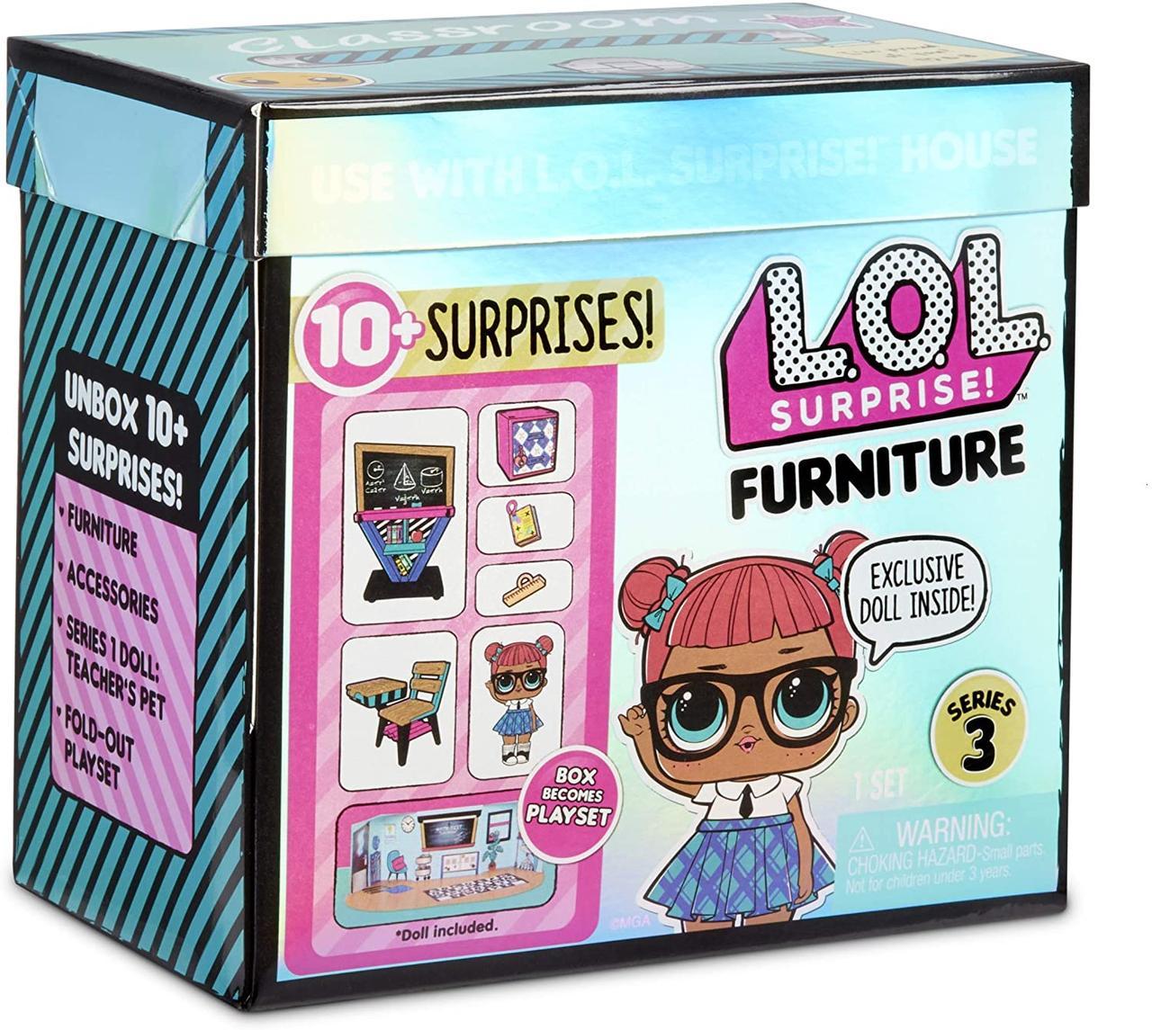Набор Лол Школьный класс умницы L.O.L. Surprise!