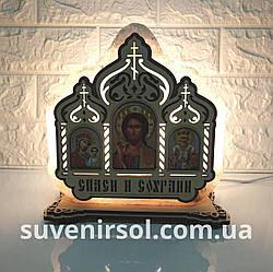 Соляний світильник Ікона Триптих