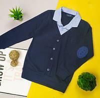 Сорочка- обманка для хлопчиків Замечательная рубашка в школу, на выпускной и просто на праздник 255грн