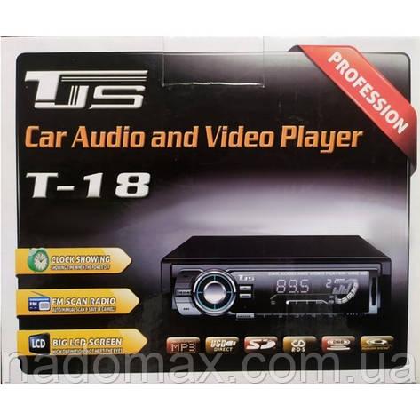 Автомагнитола 1DIN,USB ,micro USB,AUX, MP3 T-18, фото 2