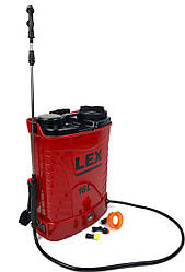 Опрыскиватель аккумуляторный LEX 15 А/ч (LX16)