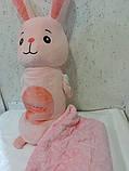 Плед игрушка подушка 3в1 Длинная игрушка в ассортименте, фото 4