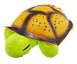 """Ночник детский """"музыкальная черепаха"""" проектор звездного неба, зеленая, фото 3"""