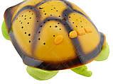 """Ночник детский """"музыкальная черепаха"""" проектор звездного неба, зеленая, фото 4"""