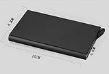 Картхолдер з захистом від безконтактного зчитування ANTI RFID 10*6.2*0.8 см, фото 7