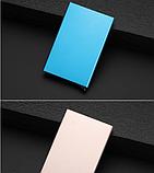Картхолдер з захистом від безконтактного зчитування ANTI RFID 10*6.2*0.8 см, фото 4
