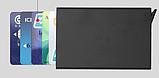 Картхолдер з захистом від безконтактного зчитування ANTI RFID 10*6.2*0.8 см, фото 10
