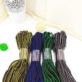 Мягкая цветная веревка для рукоделия 4мм 20м