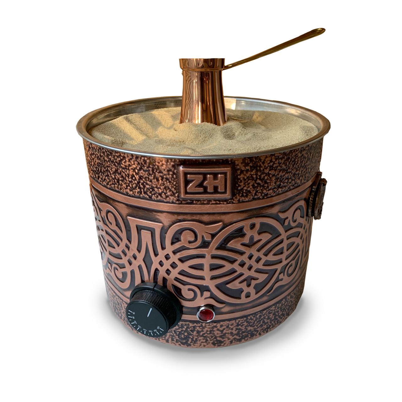 Кофемашина ZH для приготовления кофе на песке KUM 01 - SARMAL