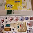 Банки масажні 24 кангшу з пістолетом шприцом, фото 2