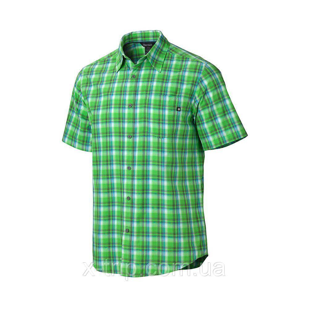 Рубашка мужская Marmot Alder Plaid SS Bright Grass, S (MRT 62980.4343-S)