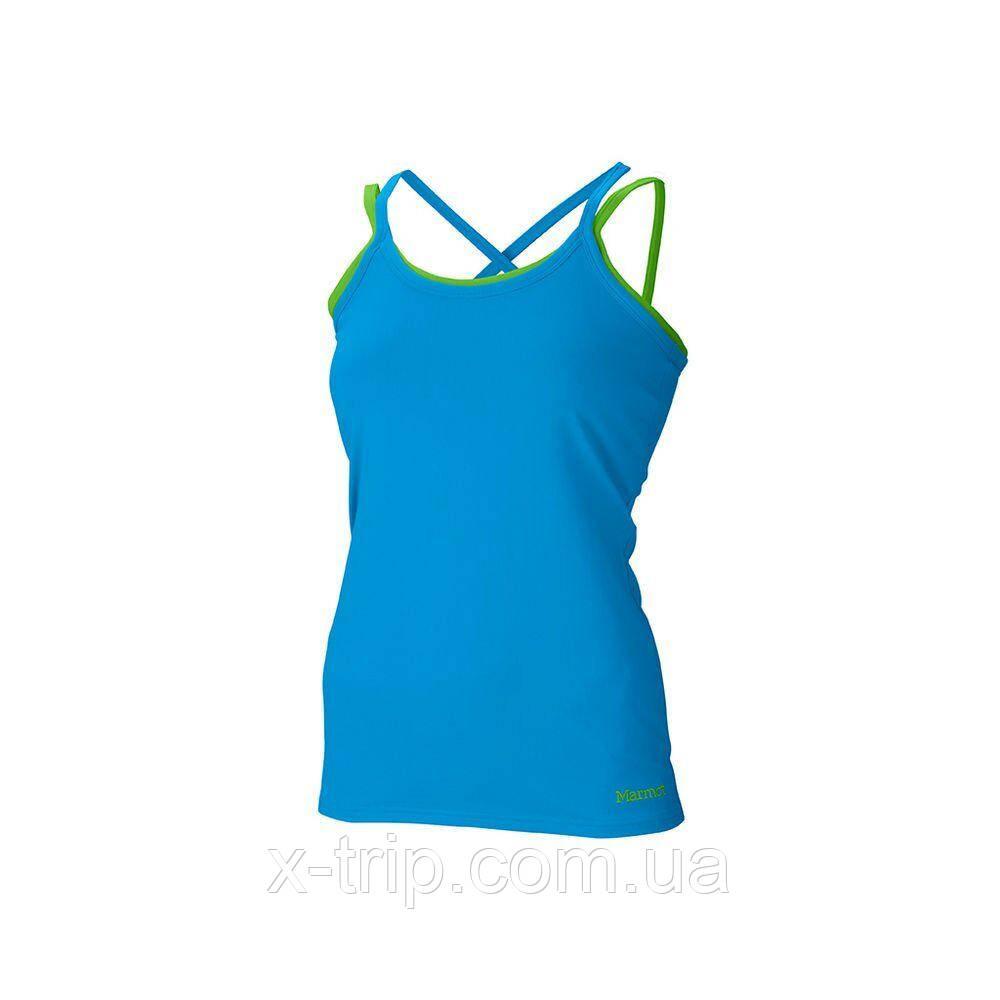Майка женская Marmot Wm's Erin Tank Atomic Blue / Green Envy, L (MRT 66760.2911-L)