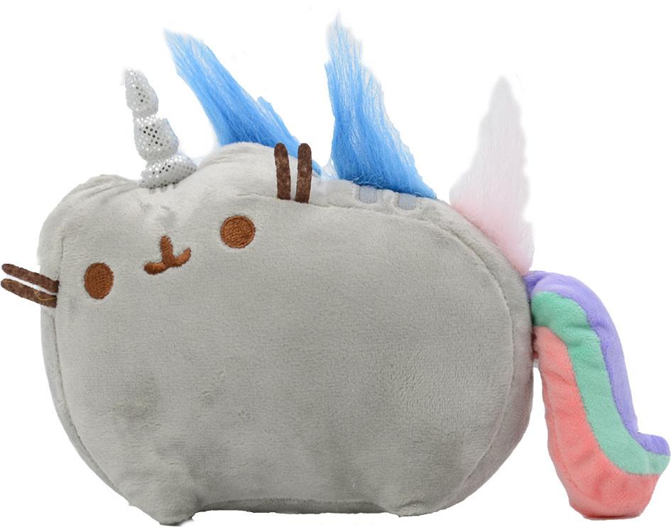 Мягкая игрушка кот-единорог радуга Pusheen cat (vol-651)