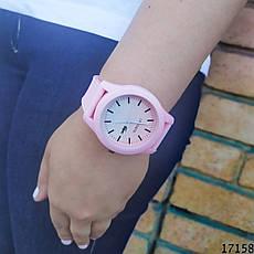 Женские наручные часы пудровые в стиле Lacoste. Годинник наручний жіночий, фото 3