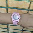 Женские наручные часы пудровые в стиле Lacoste. Годинник наручний жіночий, фото 2