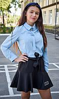 Школьная блузка на девочку, фото 1
