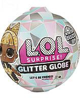 Кукла Lol Winter Disco Glitter globe зимняя серия