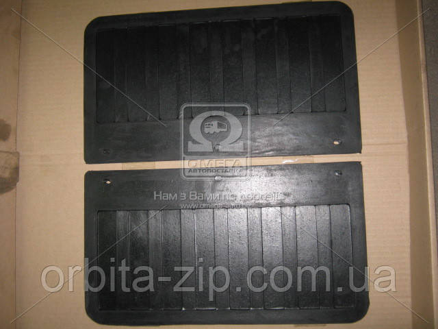 3302-8511188 Брызговик колеса заднего ГАЗ 3302 ГАЗЕЛЬ бортовая (комплект 2 штуки) (пр-во Украина)