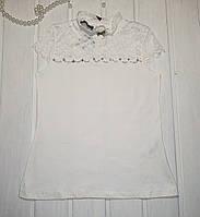 Нарядна Блузка для дівчинки в школу Розміри 152 164