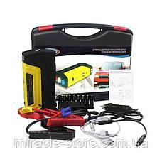 Автомобильное пуско-зарядное устройство Jump Starter (50800 мАчmAh) c защитой, фото 3