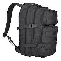 Тактичний штурмовий рюкзак Mil-tec 20 л чорний