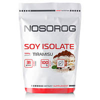 Соевый протеин изолят Nosorog Soy Isolate (1 кг) носорог тирамису