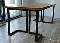 Стол из металла в стиле ЛОФТ Стильный стол Лофт подойдет для баров,кафе, кухни студии и просто для вашего дома