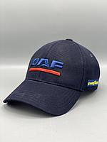 Автомобильная кепка бейсболка ДАФ DAF темно синяя