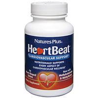 Комплекс для Поддержки Сердечно-Сосудистой Системы, Heart Beat, Natures Plus, 90 таблеток