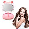 Led mirror Велике дзеркало з підсвічуванням для макіяжу FOX. Дзеркало для макіяжу. Дзеркало з підсвічуванням.