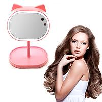 Led mirror Велике дзеркало з підсвічуванням для макіяжу FOX. Дзеркало для макіяжу. Дзеркало з підсвічуванням., фото 1
