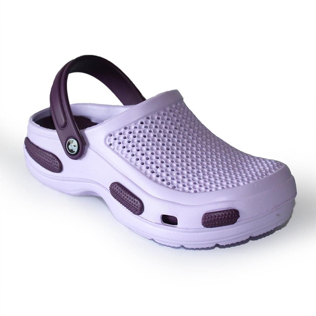 Фиолетовые кроксы , р. 36, 37, 38, 40 шлепанцы из пены для подростков и взрослых