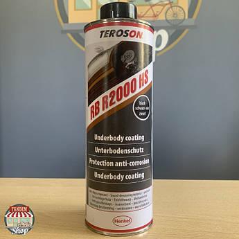 Антигравийное покрытие на каучуковой основе (жидкие подкрылки) Teroson RB R2000 HS, 1 л