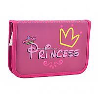 Пенал твердый Smart одинарный с клапаном Princess Smart розовый (531671), фото 1
