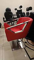 Парикмахерское кресло для салона красоты подъемный механизм гидравлика + блокировкой вращения кресла А006
