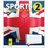 Зошит 24арк. кліт. YES Sports 764719, фото 1