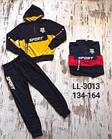 Спортивный костюм 2 в 1 для мальчика оптом, Sincere, 134-164 см,  № LL-3013, фото 1