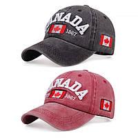 Кепка бейсболка CANADA 2, 2 Унисекс, фото 1