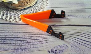 Подставка для телефона и планшета, оранжевая